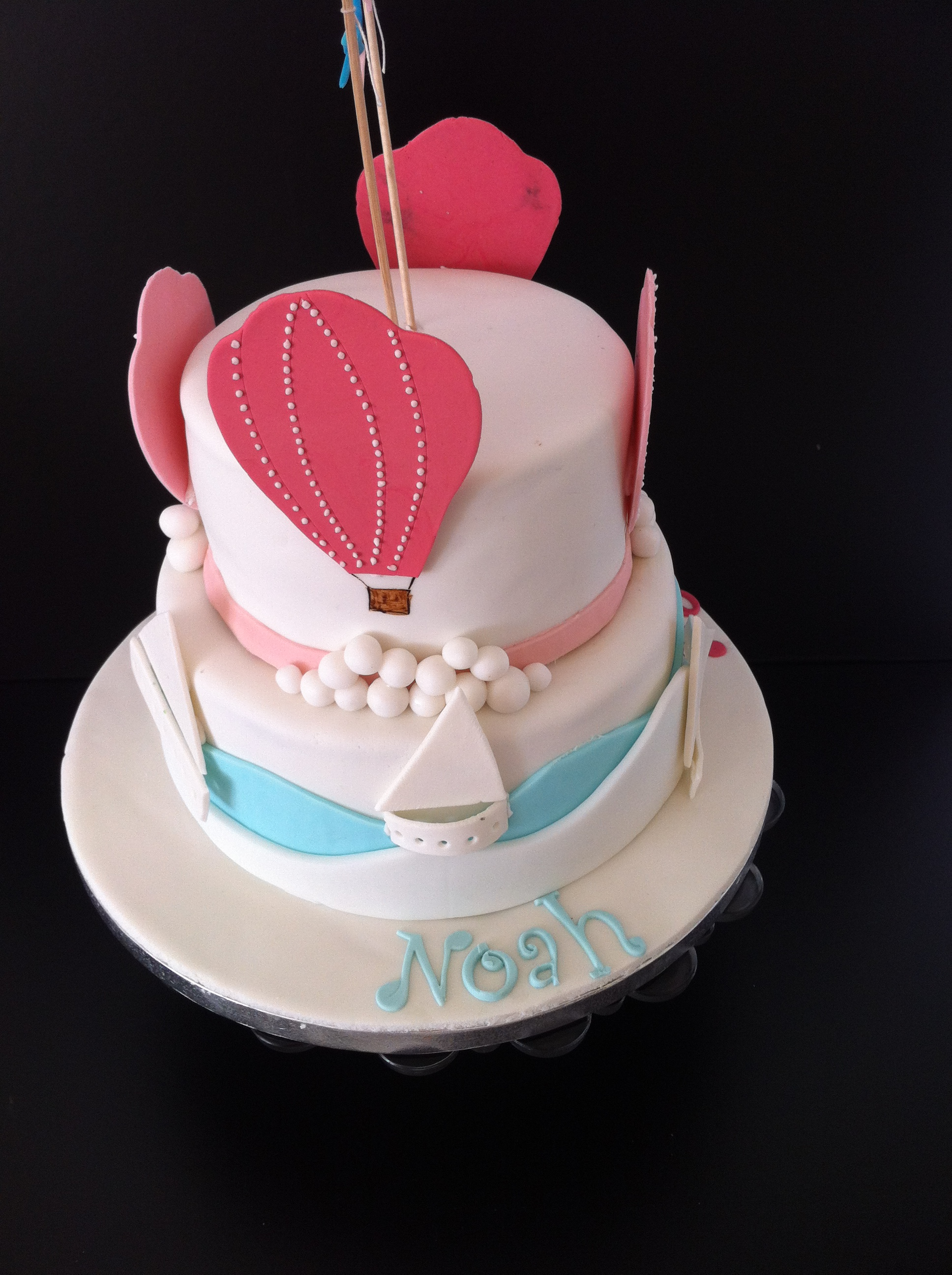 Lucys Cakes Hot Air Balloons